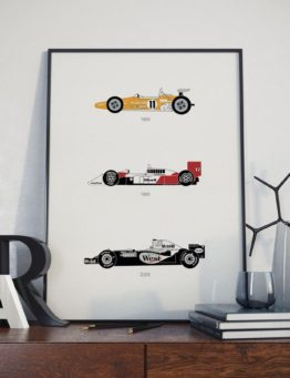 McLaren Print Letters Lifestyle 1 – Rear View Prints