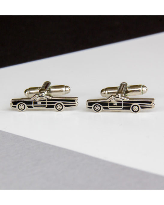 Batmobile 1 car cufflinks - Rear View Prints