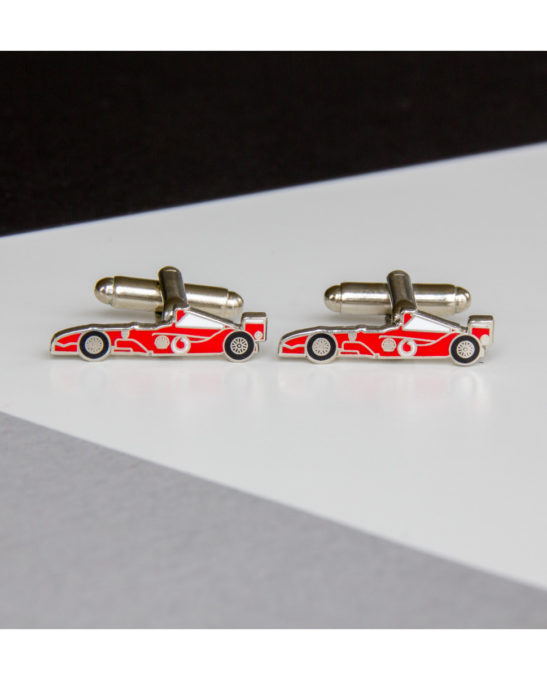 Ferrari 1 car cufflinks - Rear View Prints