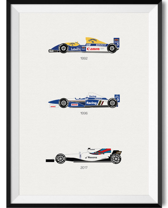 Williams Print - Rear View Prints