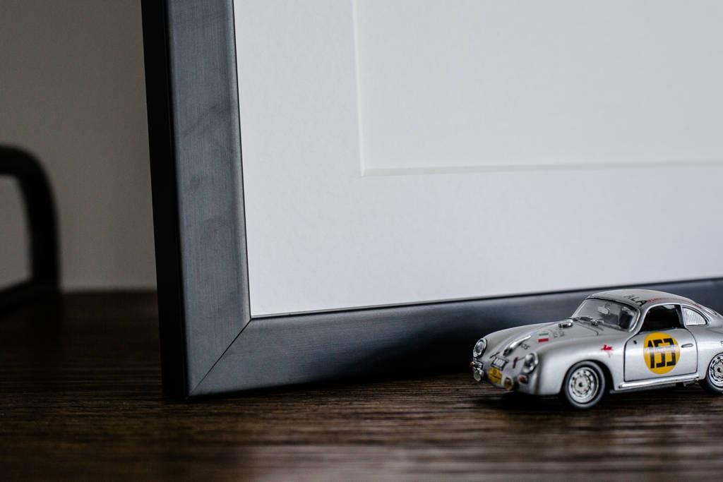 Frame Car Art Car Print Car Poster F1 Poster Automotive Art - Rear View Prints