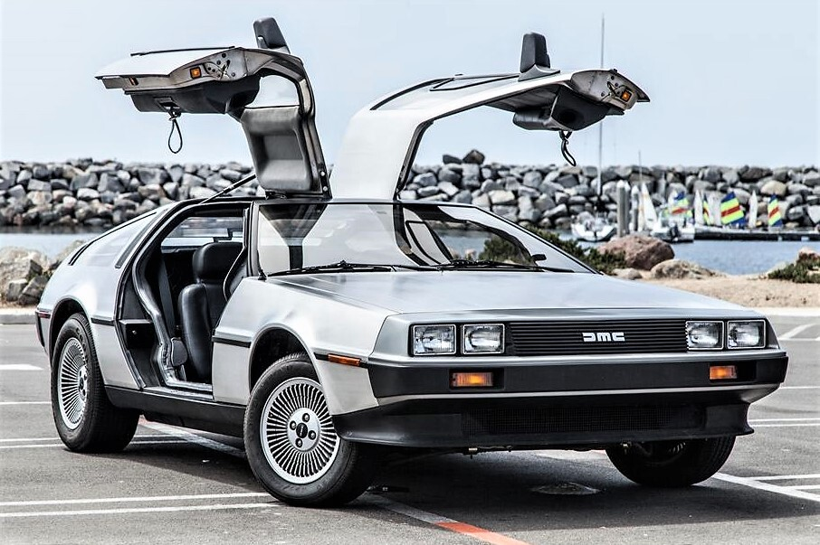 The DeLorean is an all time famous movie car from Back to the Future.