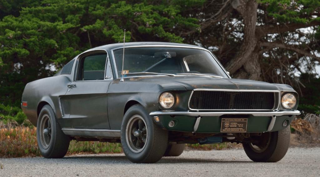 Bullitt featured the original mustang, a true famous movie car.