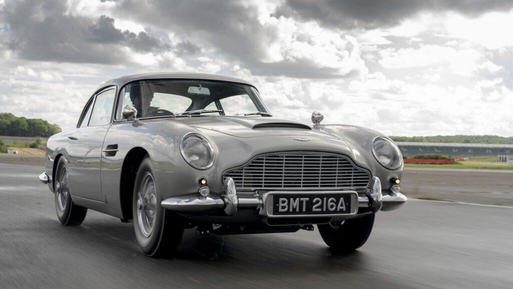 Aston Martin DB5 famous movie cars