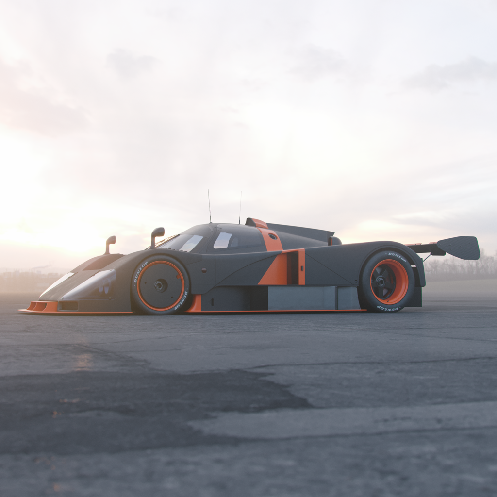 reinvention of the popular mazda 787b